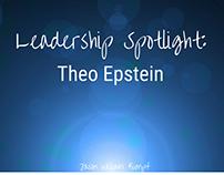 Leadership Spotlight: Theo Epstein| Jason William Kumpf