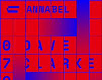 Contrast / Annabel Poster Identity