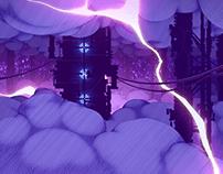 """CORRUPTED TERRAFORMING MODULE"" 2D Animation"