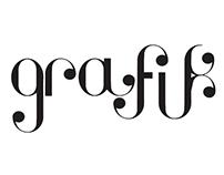 """""""GRAFIK"""" Maquetación de revista de arte."""