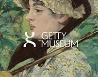 Getty Museum Rebrand