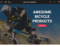 Bicycle products Website
