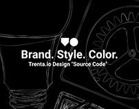 Trenta.io - Brand. Style. Color - Style Guide