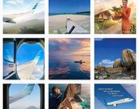 Garuda Indonesia SG Instagram Conversation Calendar