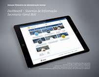 Intranet Dashboard - Ministério Administração Interna