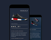 adidas NMD_R1 Website