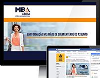 Campanha de divulgação - MBA em Comunicação Aberje/ESEG