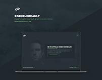 Robin Mimeault - Freelance Front-End developer