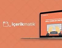 İçerikmatik Web UI