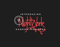 FREE - NIGHTWORK HANDWRITING FONT