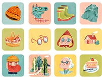 Icons project for app