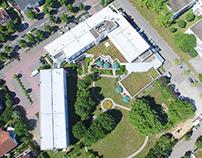 Luftaufnahme bzw. Luftbild mit Drohne - Referenz Hotel