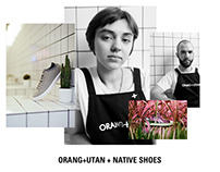 Orang+Utan x Native Shoes