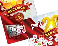Pol TV: Promotional postcards