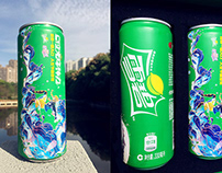 Illustration for Sprite Summer Package