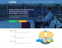 FS-DSK Website Mockup