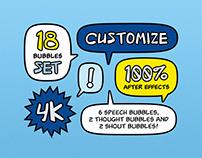 Adjustable Speech Bubbles - CUSBU
