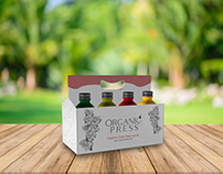 Organic Press Juice Packaging