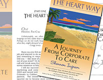 The Heart Way Book Design - Graphic Design