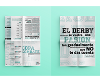 Desplegable Tipografico de evento