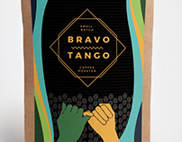 BravoTango CoffeeRoasters -Product Label-