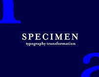 Specimen | Typography