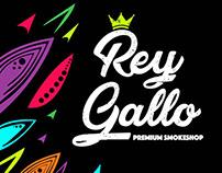 """Rey Gallo"" Premium Smokeshop Branding"