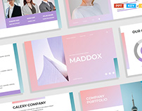 Gradient Pink White Modern Creative Business Plan