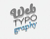 Bachelor Thesis - Webtypography