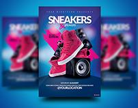 Sneakers n Speakers #2 Flyer