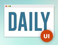Daiy UI samples