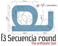 f3 Secuencia Round font