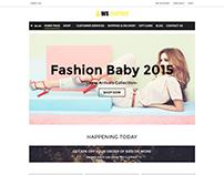 WS Clothes WooCommerce WordPress theme
