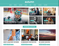 Autumn / A Wordpress Theme