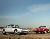 Ferrari 330 gtc — on location
