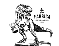 Print for Fábrica coffee roasters