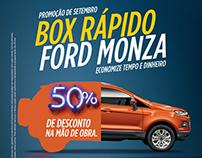 Ford Monza - BOX RÁPIDO MONZA