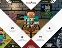 Nitroserv - brand and website redesign | 2013