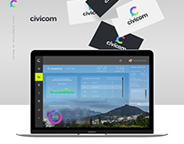 Civicom · Branding · UI/UX