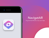 NavigatAR - Augmented Reality City Lens App