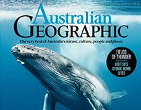 Australian Geographic covers 2016