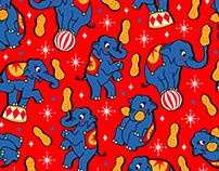 Goobers - Kids fabric design 2017