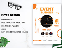 Event Business FLyer Free Download