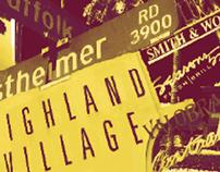 Highland Village Poster