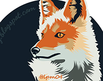 The Fox: Vector Art