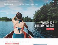 Final Destination - Web Design