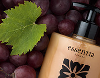 Grape Uva : Panel Display of Essentia products
