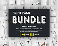 Print Pack BUNDLE Mockups V.1