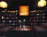 Nike brand space