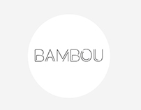 BAMBOU - Typography typeface font